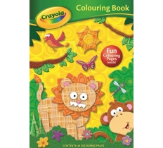 Crayola Colouring Book Lion
