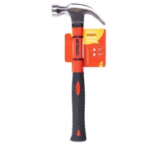8oz CLAW HAMMER - FIBREGLASS SHAFT