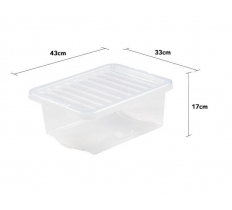Crystal 16L Box and Lid