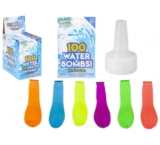 100 WATER BOMBS INCLUDING WATER FILLER