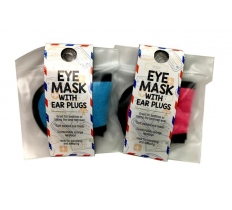 EYE MASK SOFT TERRY WITH EARPLUGS