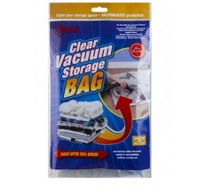 CLEAR VACUUM STORAGE BAG 80X110CM