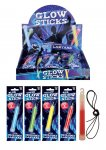 GLOW STICK 15CM WITH LANYARD