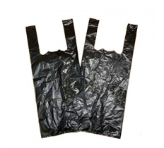 "Black Bottle Carrier Bag ( 10"" x 15"" x 18"" ) x 2000"