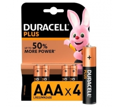 Duracell Plus AAA 4 Pack x 10