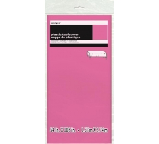 HOT PINK TABLECOVER 54X108 IN