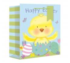 EASTER CHICK EXTRA LARGE WIDE GIFT BAG