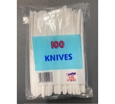 Plastic Cutlery Knives 100pk
