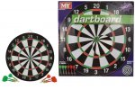 "17"" DART BOARD & 6 DARTS"
