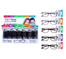 READING GLASSES MIXED STRENGTH THREE COLOUR