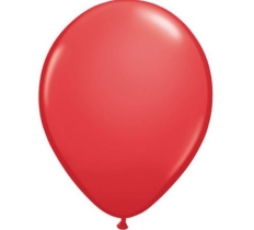 "QUALATEX 100PACK 11""RED LATEX BALLOON"