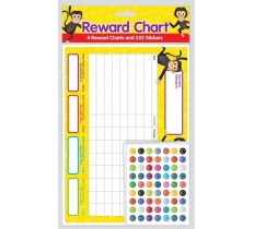 REWARD CHART WITH STICKERS