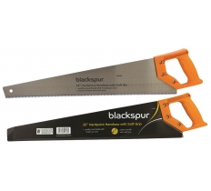 "BLACKSPUR 22"" HARDPOINT HANDSAW WITH SOFT GRIP"