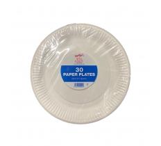 "30 Pack of 9"" (23cm) Paper Plate"