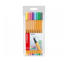 STABILO ORIGINAL POINT 88 FINELINER PENS 8 PACK