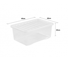 Crystal 45L Box and Lid