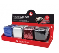 ALUMINIUM CREDIT CARD CASE