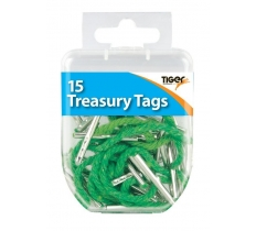 Essential 20 Treasury Tags Steel