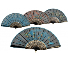 "9"" Chinese Fan (Packed in Colour Box)"