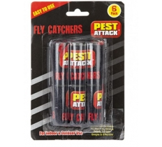 6PC FLY PAPERS