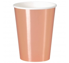 8 ROSE GOLD 12OZ CUP-FB
