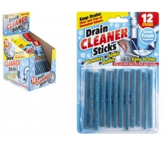 12PC MAGIC DRAIN CLEANER STICKS