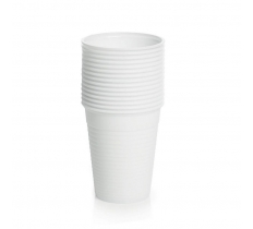 White Plastic Cups 25 Pack