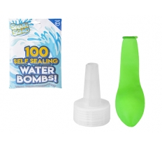 100PC SELF SEALING WATER BOMBS WITH FILLER
