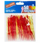 EAT EASEE PACK OF 50 FORKS