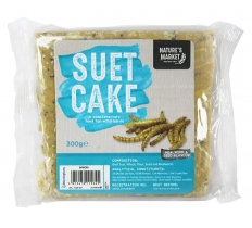 WILD BIRD SUET CAKE WITH MEALWORMS FEED