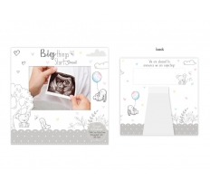 BABY SCAN ANNOUNCEMENT CARD