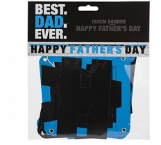 180CM HAPPY FATHERS DAY BANNER