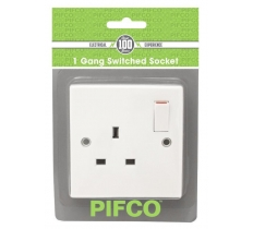 PIFCO SINGLE SWITCHED SOCKET