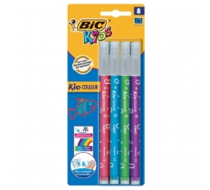 BIC KIDS WASHABLE COLOURS 8 PACK