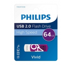 PHILIPS 64GB USB 2.0 FLASH DRIVE