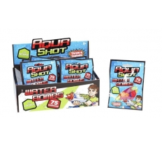 75PC AQUA SHOT WATERBOMBS WITH NOZZLE