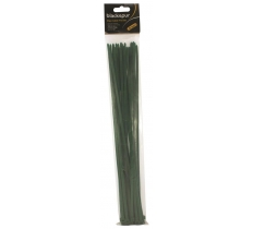 "30PC CABLE TIE SET - 15"" X 4.8MM - GREEN"