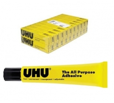 UHU All Purpose Adhesive 20ml Boxed x 20 ( 70p Each )