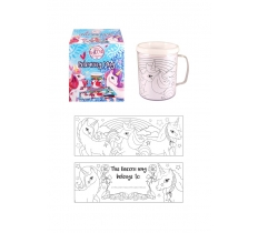 COLOUR IN YOUR OWN UNICORN MUG