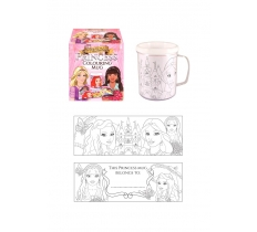 COLOUR IN YOUR OWN PRINCESS MUG