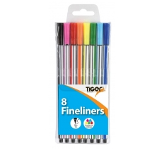 Fineliners-pack of 8