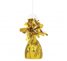 FOIL BALLOON WGHT - GOLD