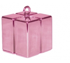 QUALATEX PEARL PINK GIFT BOX BALLOON WEIGHT