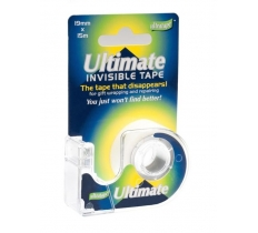 ULTRATAPE ULTIMATE 19MM X 15M INVISIBLE TAPE ON DISPENSER