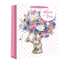 CUTE TEDDY LARGE GIFT BAG