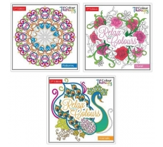 Adult Colour Therapy Anti-Stress Colouring Book 2nd Edition