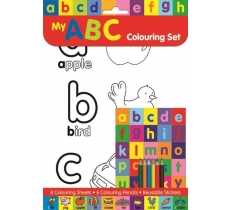 ABC COLOURING SET