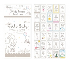 30 BABY MEMORABLE MOMENT CARDS