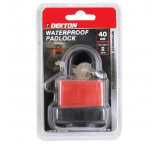 DEKTON WATERPROOF PADLOCK 40MM