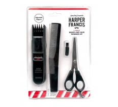 BEARD & HAIR TRIMMER KIT 4PC